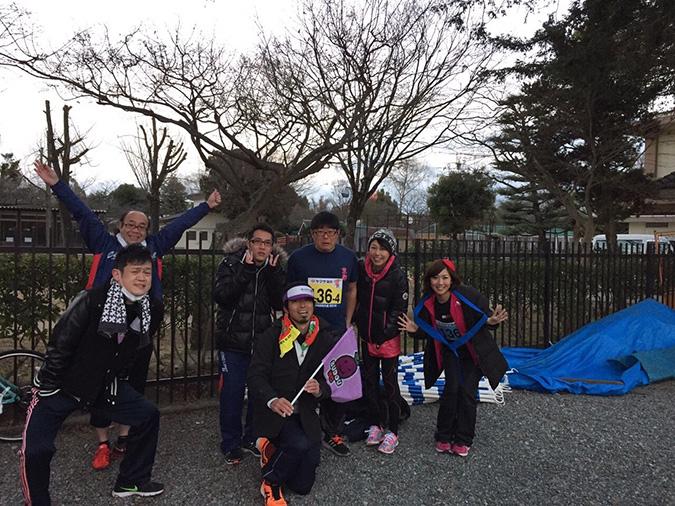 姫路城駅伝でブドウRC、Bチームが3位に_9710