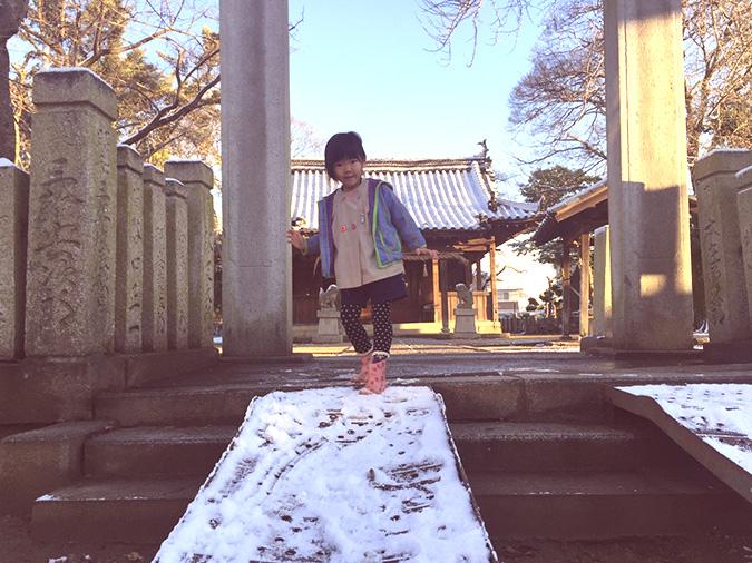 姫路に雪がふった路地でお洒落撮影してみた_12