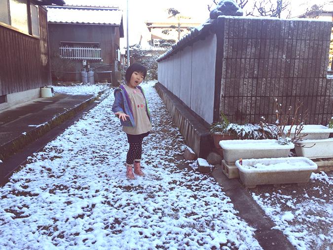 姫路に雪がふった路地でお洒落撮影してみた_16