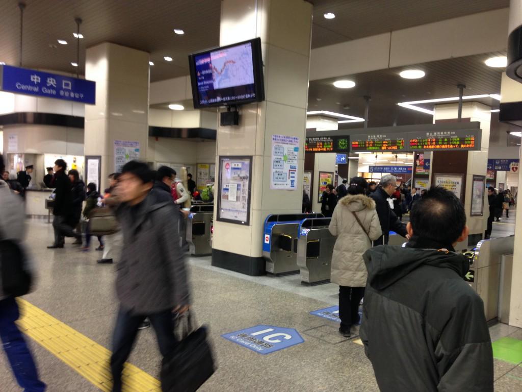 姫路駅改札