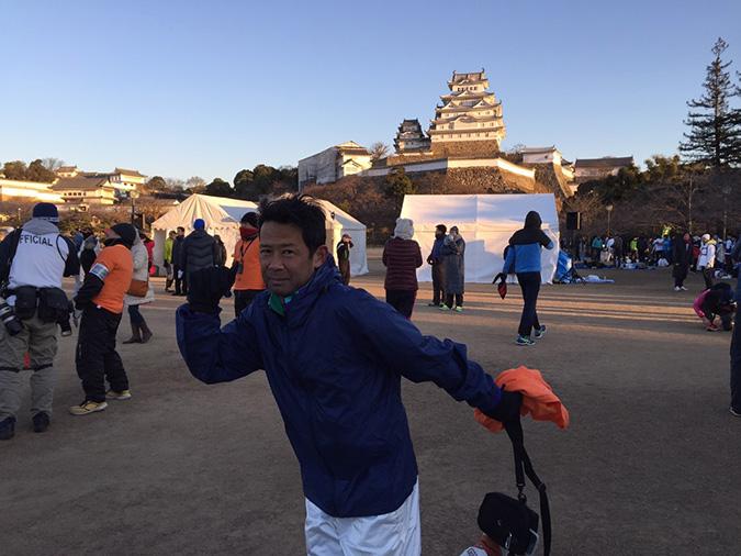 姫路城駅伝でブドウRC、Bチームが3位に_3366