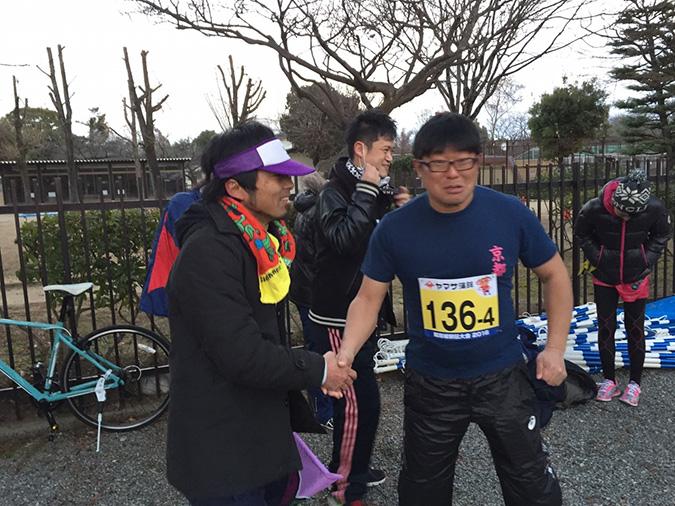 姫路城駅伝でブドウRC、Bチームが3位に_7277