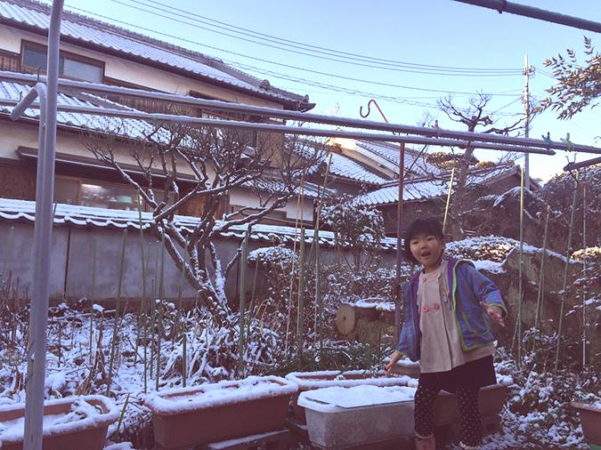 姫路に雪がふった路地でお洒落撮影してみた_1
