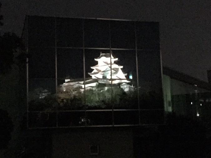 今日の姫路城-以外と知らない博物館に映る_1251