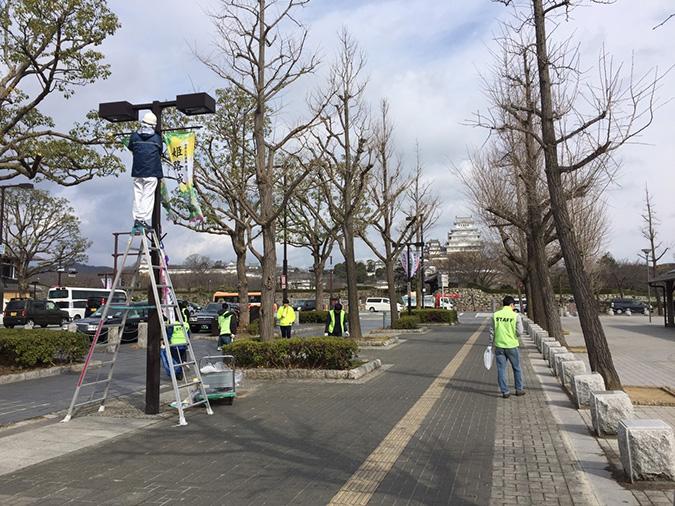今日の姫路城-姫路マラソンの次の日_2486
