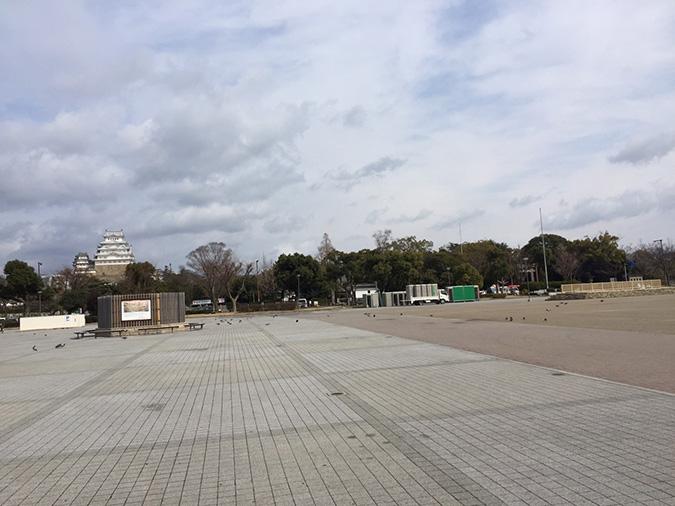 今日の姫路城-姫路マラソンの次の日_4038