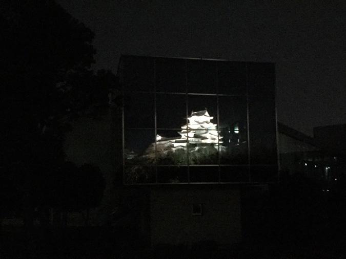 今日の姫路城-以外と知らない博物館に映る_2426