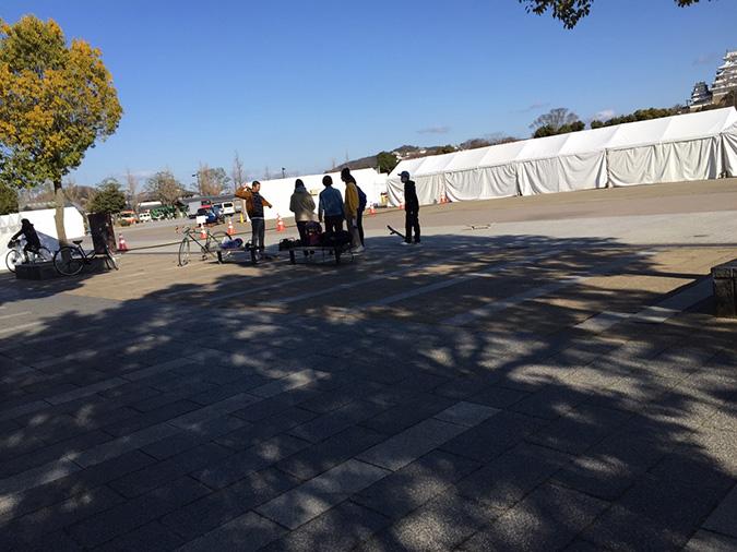 今日の姫路城--おーリーで姫路城を通す_8024