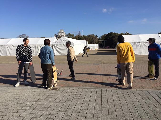 今日の姫路城--おーリーで姫路城を通す_8679