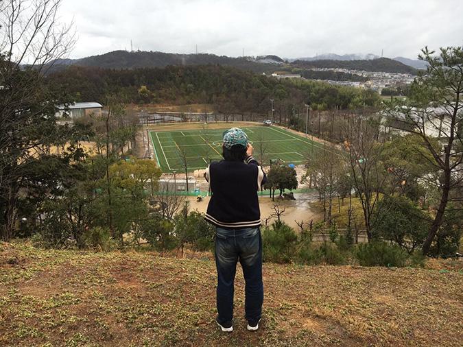 香寺総合公園のサッカーグラウンドが新く_9854