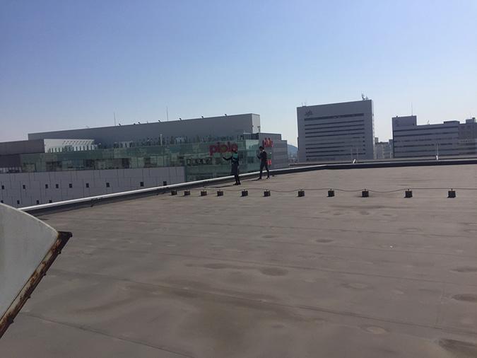 神姫バスの屋上から撮った姫路城_3723