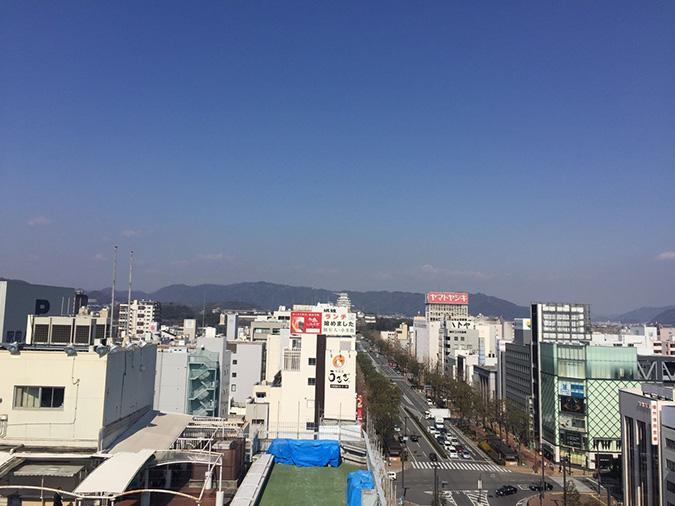 神姫バスの屋上から撮った姫路城_1470
