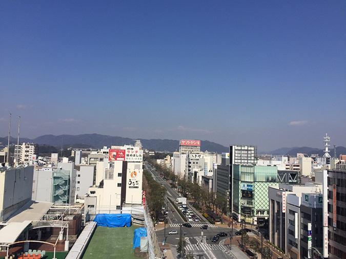 神姫バスの屋上から撮った姫路城_535