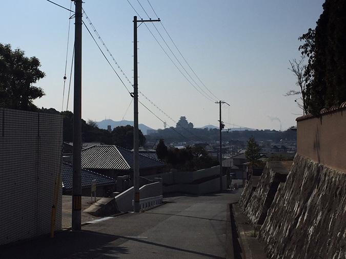 新在家から撮った姫路城_7579