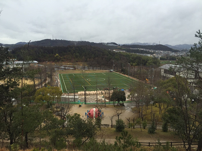 香寺総合公園のサッカーグラウンドが新く_2742