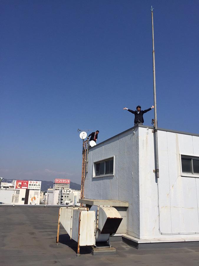 神姫バスの屋上から撮った姫路城_8175
