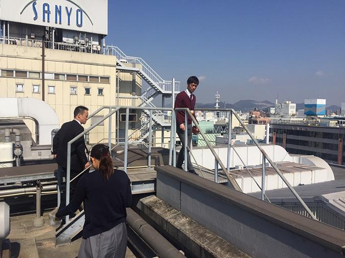 神姫バスの屋上から撮った姫路城_7419