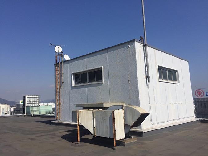 神姫バスの屋上から撮った姫路城_2996