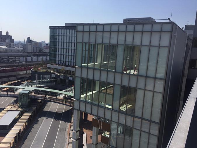 神姫バスの屋上から撮った姫路城_1569
