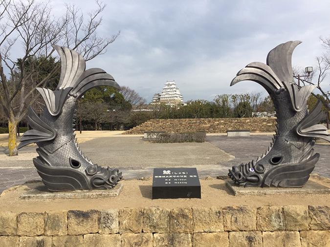 世界遺産姫路城10景城見台から撮った_9180