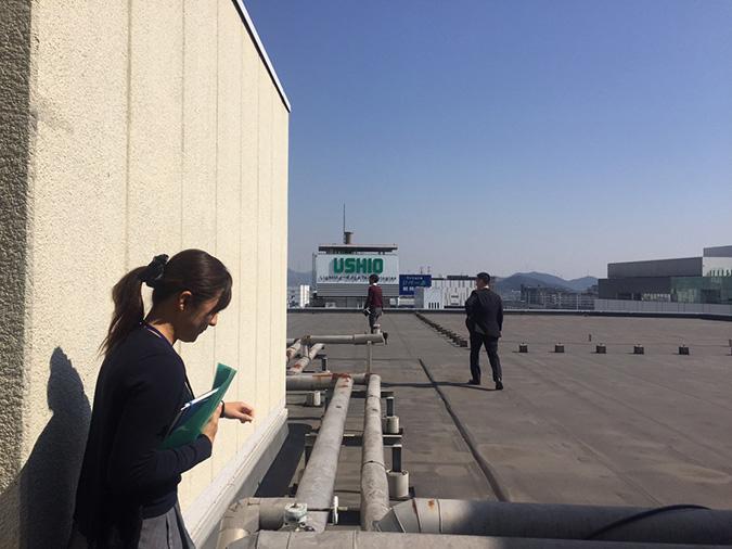 神姫バスの屋上から撮った姫路城_9285
