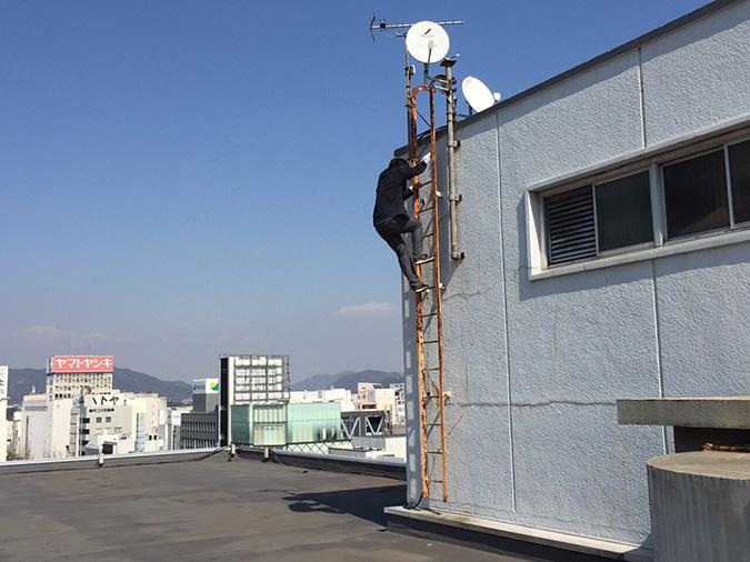 神姫バスの屋上から撮った姫路城_9432