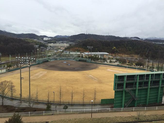 香寺総合公園のサッカーグラウンドが新く_7392