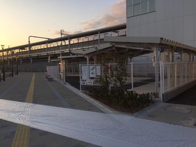 姫路東駅前日_3538