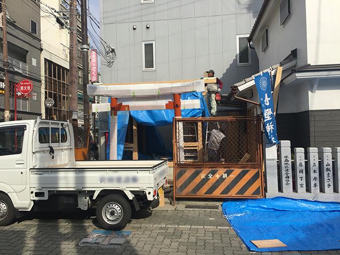 浴衣祭りの刑部神社がリニューアルしてる_2207