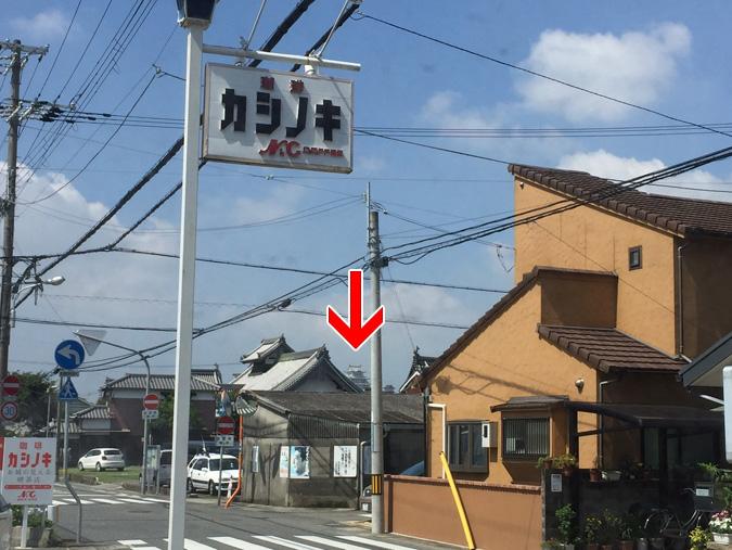お城の見える喫茶店カシノキ本当に見えるか_7176_