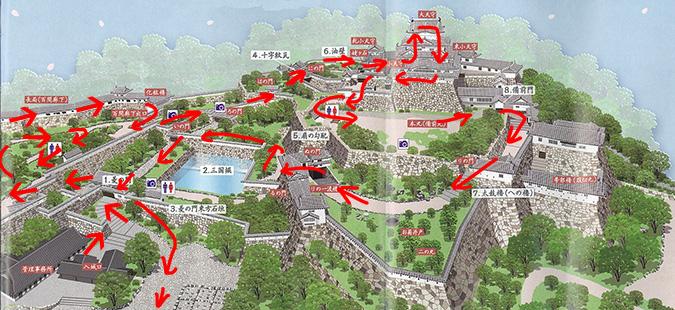 姫路城地図_