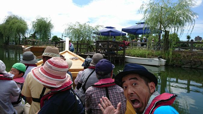 姫路城和船_2170