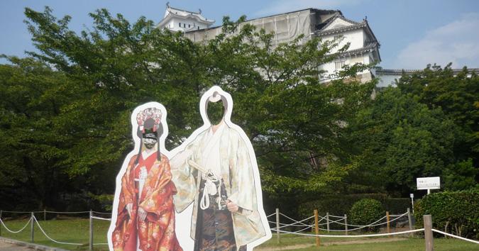 姫路城パネル