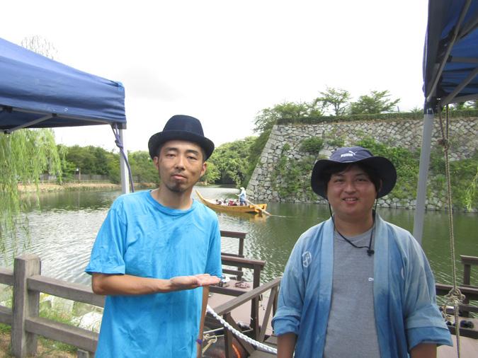姫路城和船1