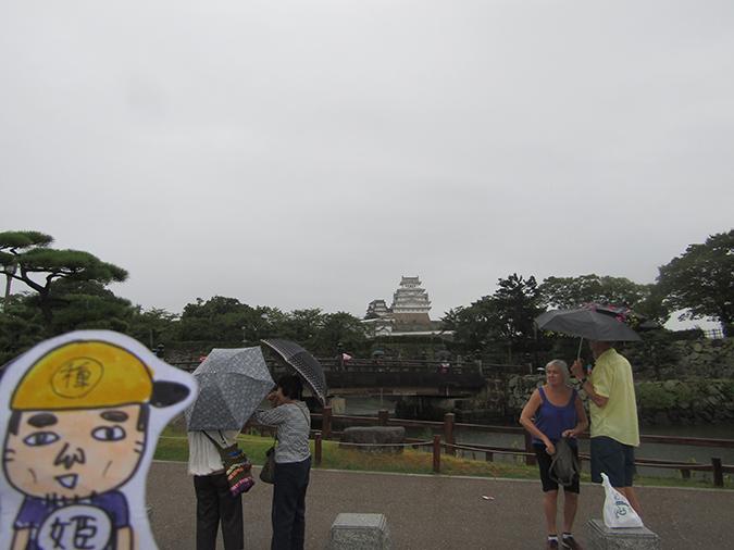 今日の姫路城1961