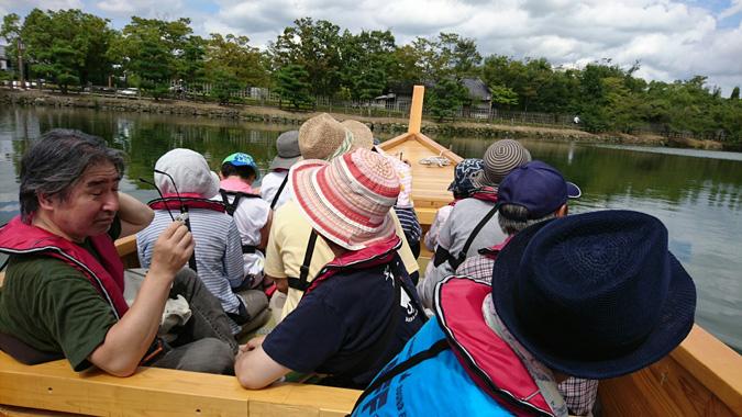 姫路城和船_9980