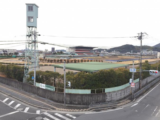 姫路競馬場の地下に巨大導水路トンネルが_938