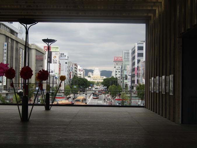 今日の姫路城キャッスルビュー台場差し2