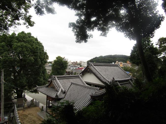 姫路城男山紅葉12