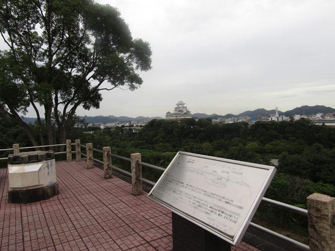 姫路城男山紅葉6