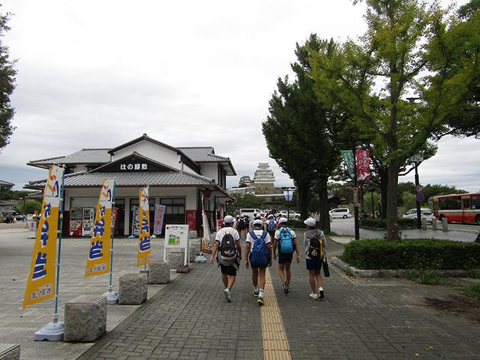 今日の姫路城ルポン音楽祭3
