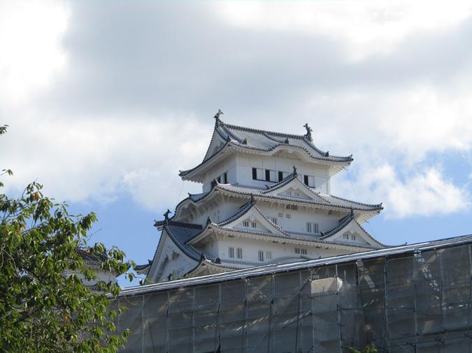 姫路城来城100万人