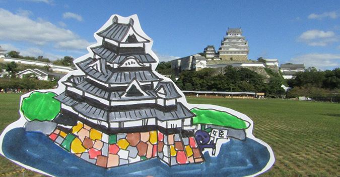 姫路城松本城2