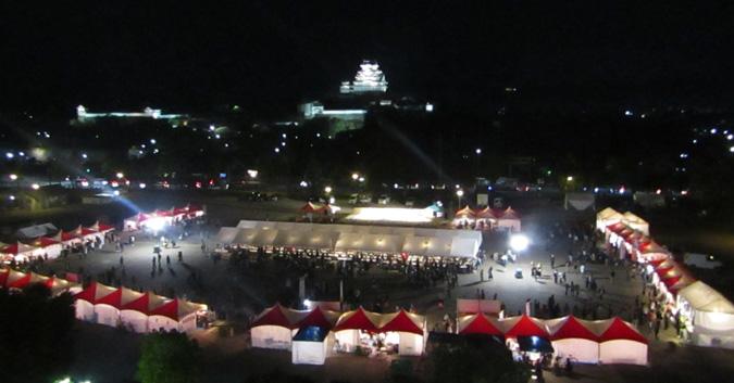 今日の姫路城イタフェスいってきた