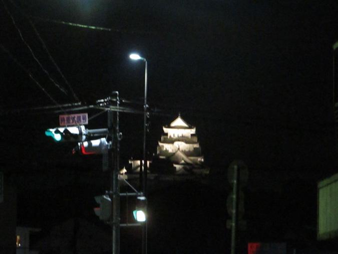 姫路城ビュースポット岩場なのジャス5