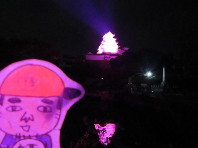 姫路城ピンク城6