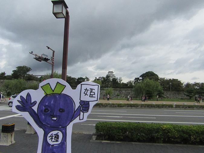 姫路城郵便切手6