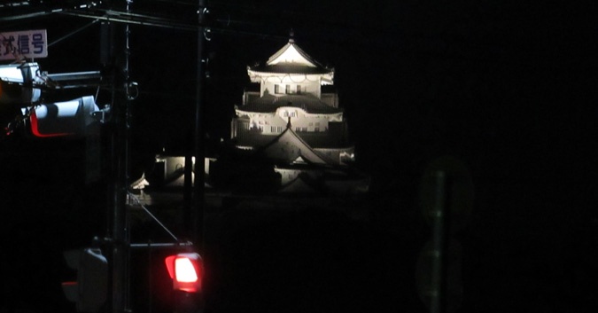 姫路城ビュースポット岩場なのジャスコ4