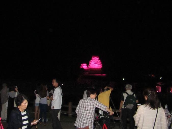 姫路城ピンク城3