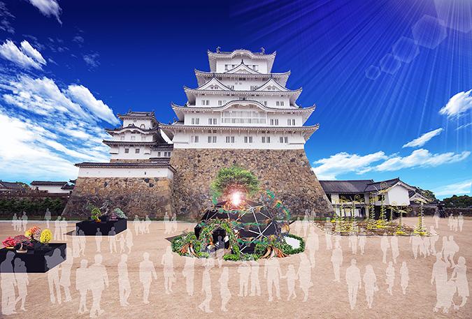 姫路城×彩時記』冬-color of the season-